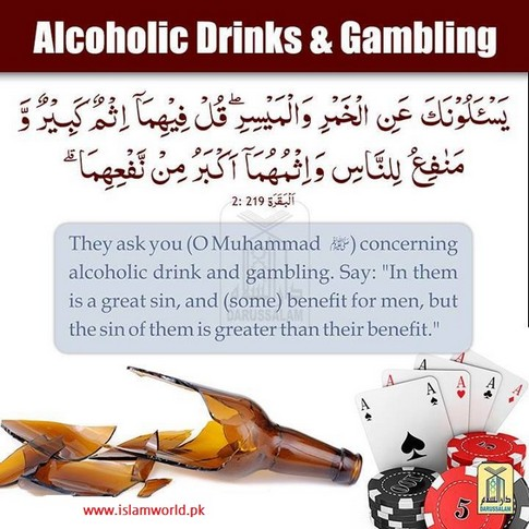 Alcoholic Drinks and gambling