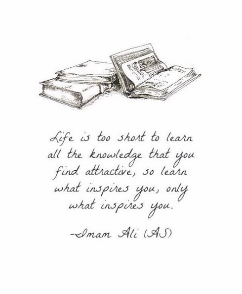 Life is too short to learn All