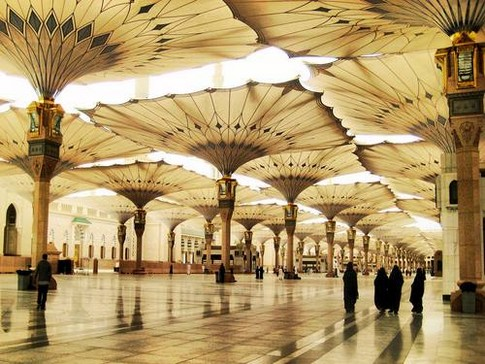 Beautiful Masjid e Nabvi