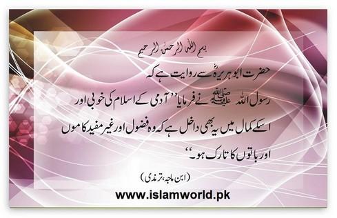 islam ki khoobi