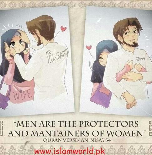 men are protectors