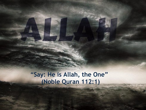 say he is ALLAH