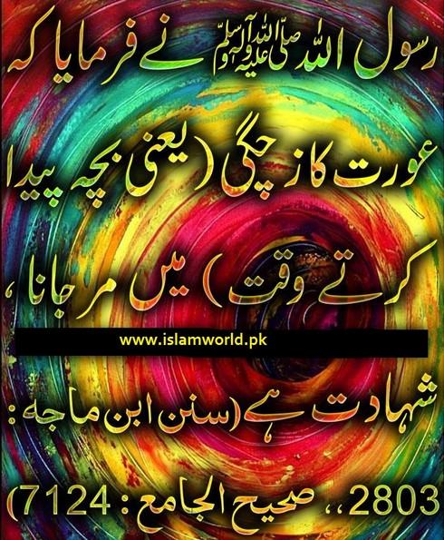 Aurat ki shahadat