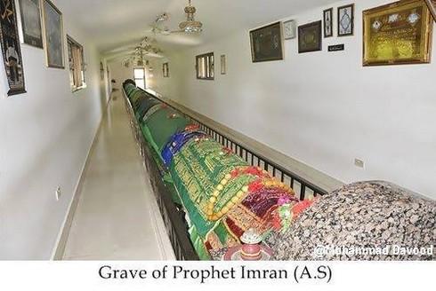 Grave of hazrat imran
